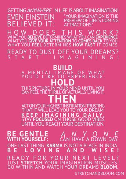 "Love this ""Manifesting Momento"" poster!  @stretchandbloom"