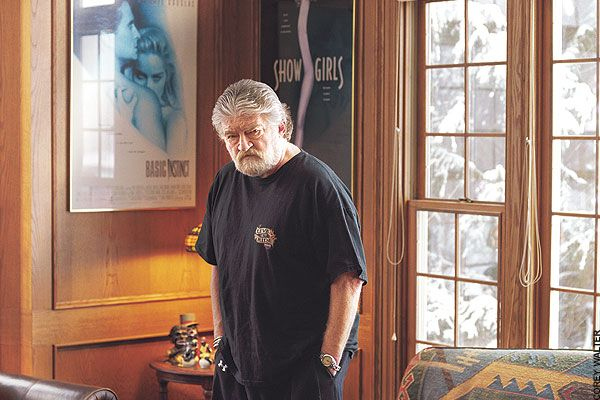 Joe Eszterhas (Music Box, Basic Instinct, Jagged Edge, etc.) http://www.imdb.com/name/nm0000390/#Writer  great screenwriter