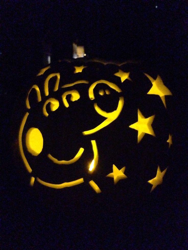 Peppa Pig Pumpkin Carving Halloween Pinterest