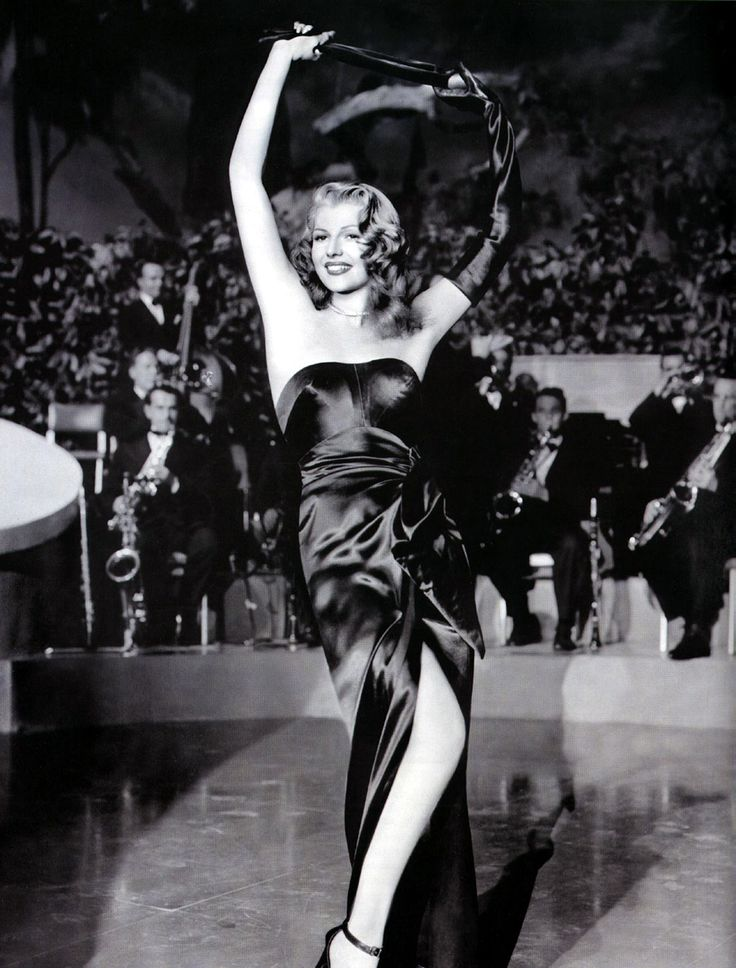 "film noir | Rita Hayworth in ""Gilda"""