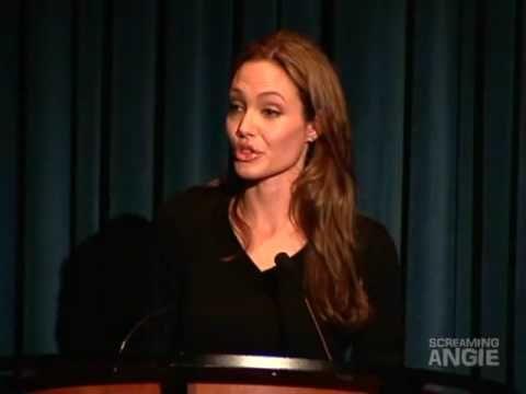Persauasive Speech Analysis – An Adorable Speech by Angelina Jolie