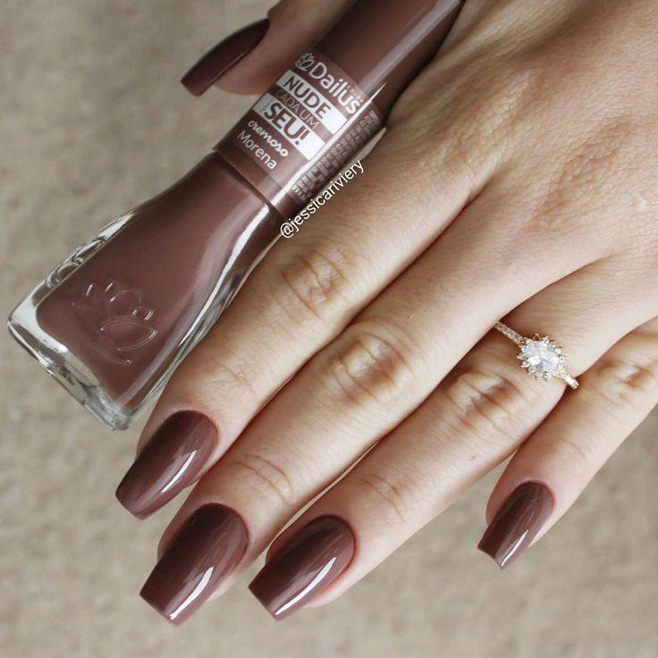 Morena da coleção nude da Dailus  #esmalteneutro #nails #unhas #esmaltenude #esmalte