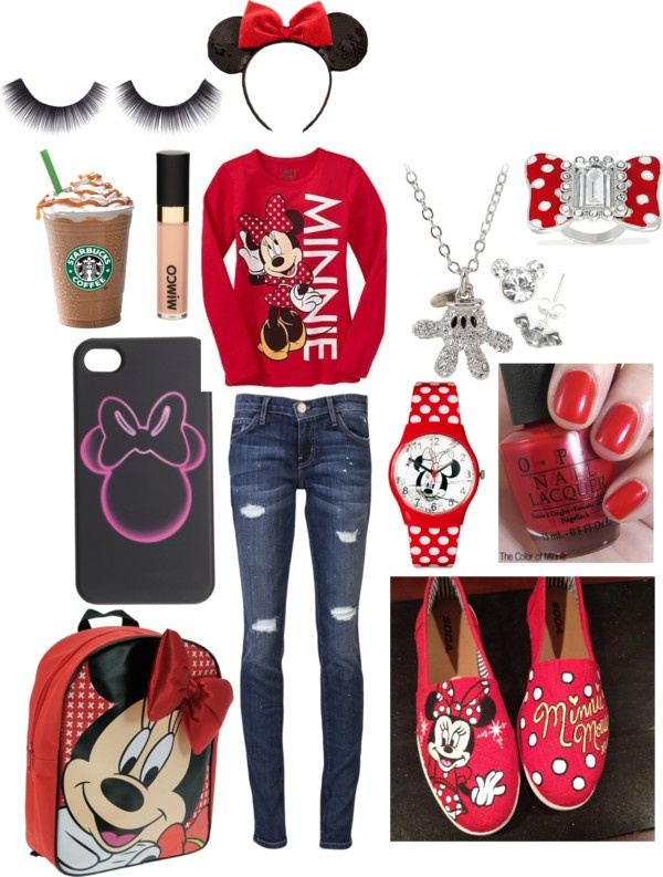 """Let's go to Disney Land!!"" by cjb4396 on Polyvore"
