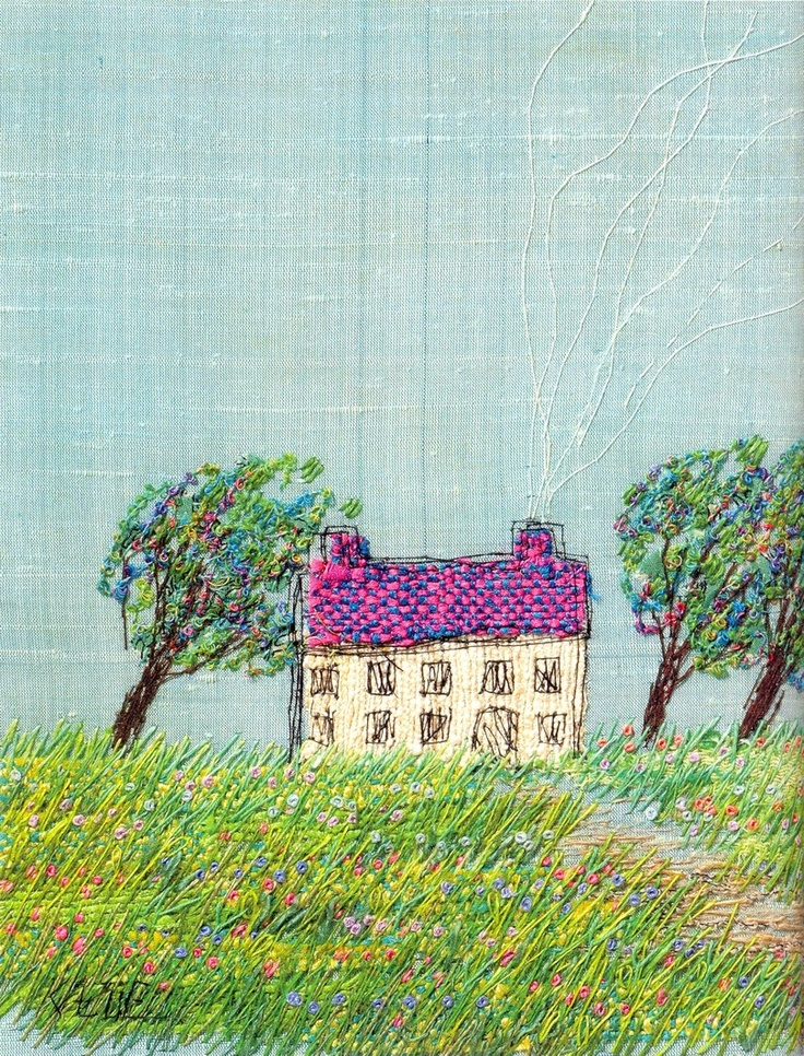 Kazue Sakurai - Sketching Embroidery - Japanese craft book: Crosses Stitches Embroidery, Crafts Books, Embroidery Embroidery, Craft Books, Outs Of Prints Master, Japanese Crafts, Embroidery Design, Japan Crafts, Sketch Embroidery