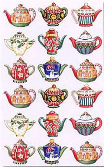 Image detail for -... engelbreit stickers products mary engelbreit holiday teapots stickers