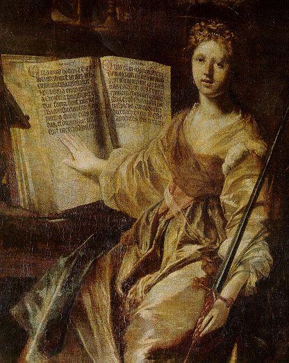 Karel Škréta, Svatá Kateřina, patronka filosofů