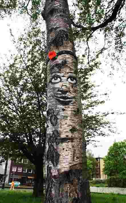 The tree project: l'arte che da' espressione agli alberi