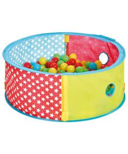Buy Chad Valley Red Pop Up Ball Pit at Argos.co.uk - Your Online Shop for 2 for 15 pounds on Toys, Activity toys, Baby activity toys, Ball pits.