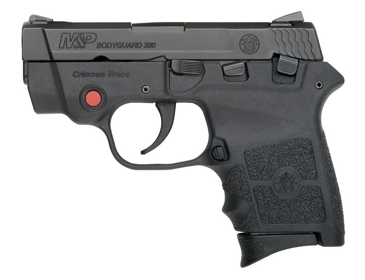 New From Smith & Wesson: Bodyguard Pistols and Revolvers With Integrated Crimson Trace Lasers