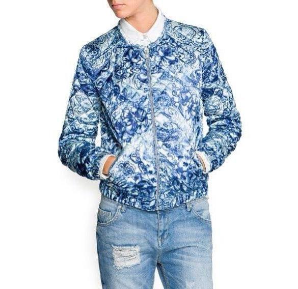 Batik motive jacket