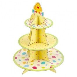 Showcase your cupcakes in this Easter themed cupcake stand. #poundlandeaster
