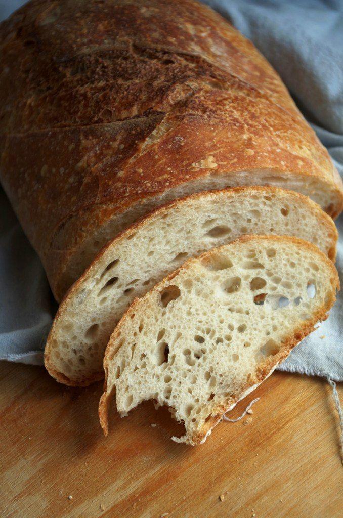 Ароматный вкусный хлеб на спелом тесте. Вмервые пекла хлеб на такой опаре, было очень интересно и познавательно) Там под катом еще хлебная страшилка из разряда…