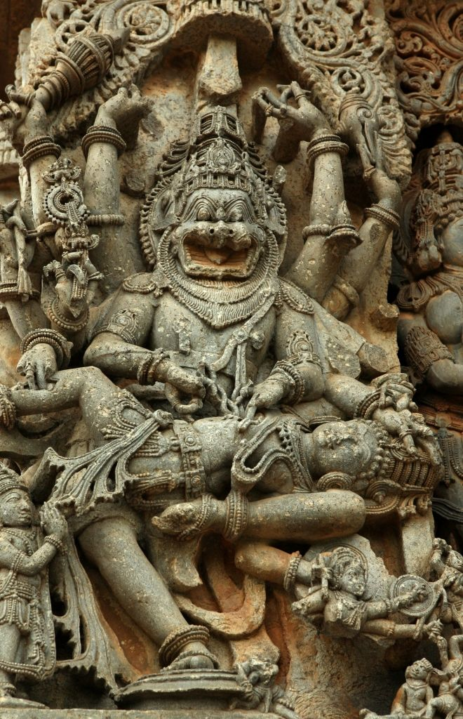 Statue of Narasimha, India
