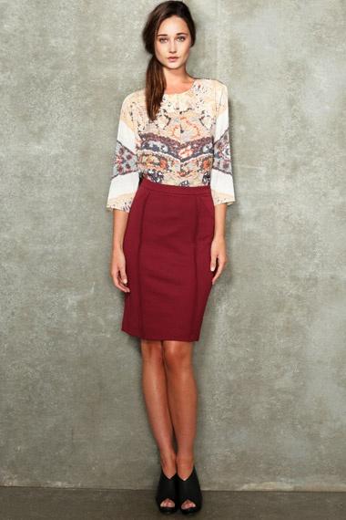 Carin Wester Rosta Heavy Jersey Skirt