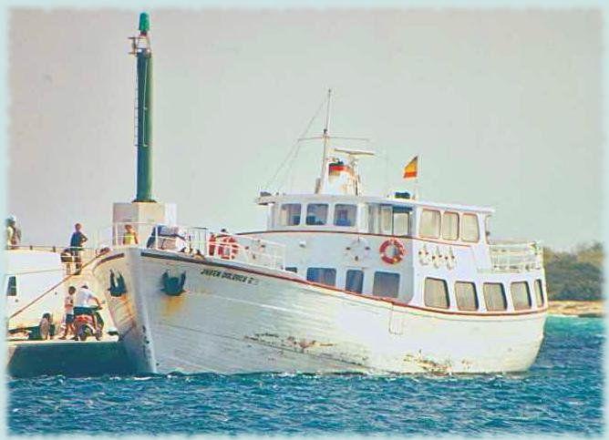 El mítico barco 'La Joven Dolores'