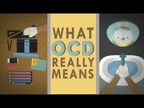 """I don't have OCD, nor do I know anyone who does (that I know of), but it always bugs me when people laugh and say """"Oh, it's my OCD."""" No, you're just picky.   A TED-Ed Lesson Debunking Common Misconceptions of Obsessive-Compulsive Disorder"""
