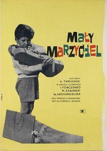 Violin and Roller, Tarkovski, Polish Poster