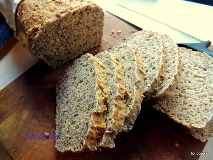 Chleb nocny z siemieniem lnianym i kefirem