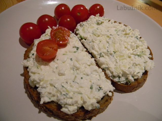 Pomazánka z Cottage cheese