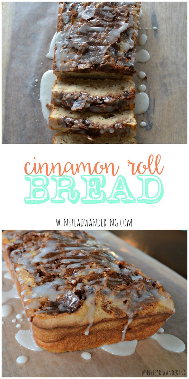 Cinnamon roll bread is a quicker, lighter, healthier alternative to traditional cinnamon rolls.  No yeast required- it's so easy!