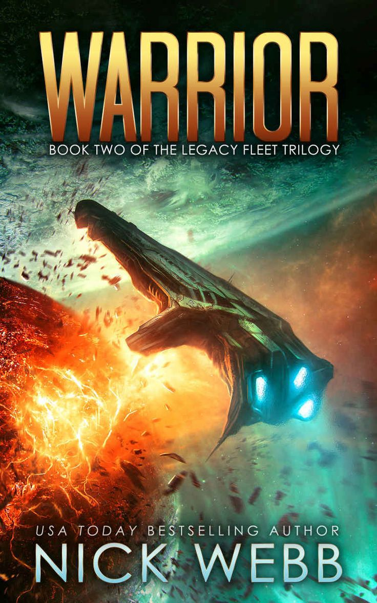 Kindle Book Cover Art : Amazon warrior book of the legacy fleet trilogy