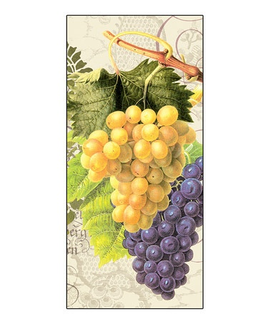 Take a look at this Grape Mystique Kitchen Towel by PPD on #zulily today! Use as napkins or favors for a wine theme shower.