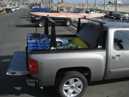 Bak Industries 26309BT Hard Folding Truck Bed Cover and Sliding Rack System