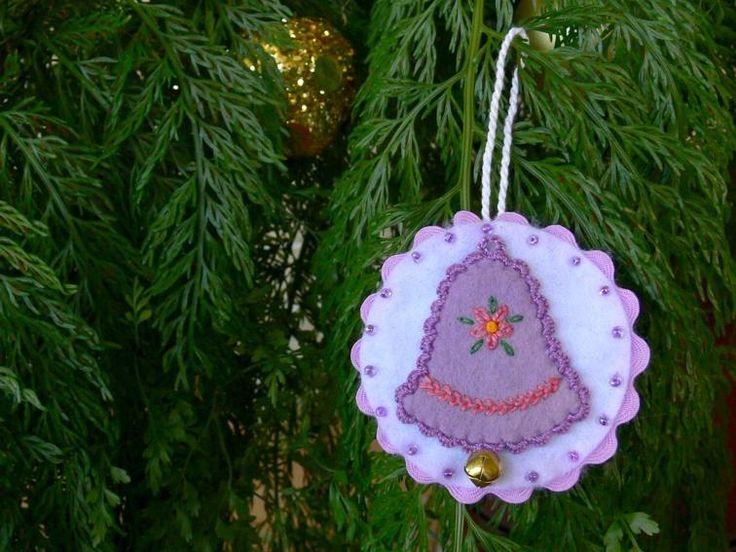 Mejores 383 imágenes de Christmas / Holiday Fun with Felt :) en ...