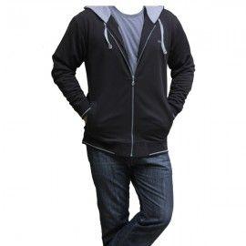 UC Gray Cotton Hoodie H-002