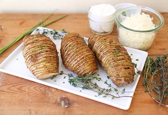 Accordion Potatoes