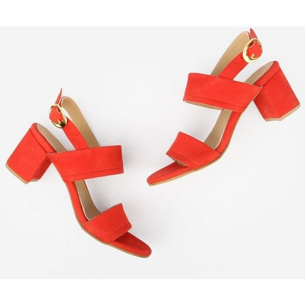 The Slingback Sandal Fire Red Nubuck (14.045 RUB) ❤ liked on Polyvore featuring shoes, sandals, red slingbacks, slingback sandals, red sandals, slingback shoes and red slingback shoes