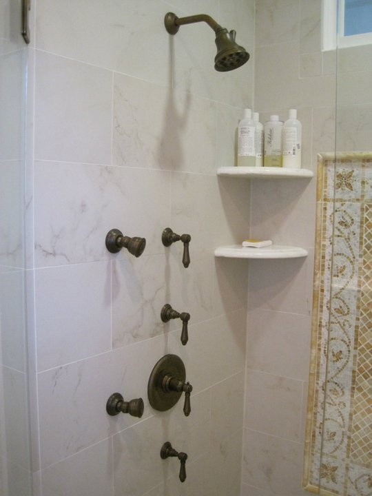 A Lovely Couple Working On A Master Bath Remodel Opted For ROHL Shower  Fixtures In Oil