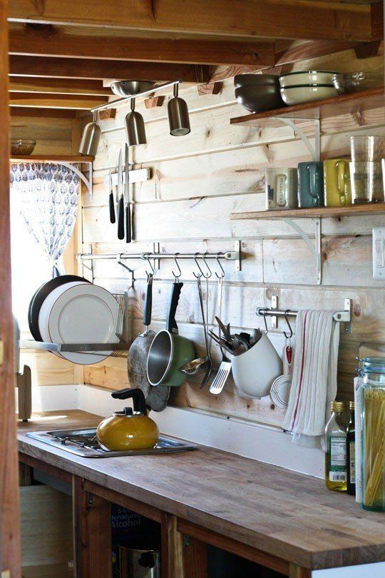 Add Sneaky Storage to Your Kitchen with a Pot Rail