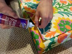 Come Along With Chong: DIY No Sew Patio Seat Cushions