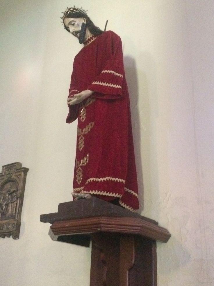 Talla del siglo XVII , Jesús de Nazareth , Parroquia San Ramón Nonato , Juana Díaz , Puerto Rico