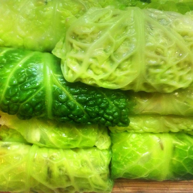 ... National Cabbage Day? This is what you need: Stuffed Cabbage Rolls