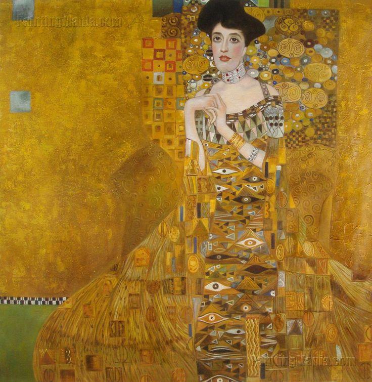 obrazy klimta reprodukcje - Gustav Klimt obrazy kopie i reprodukcje dzieł Klimta