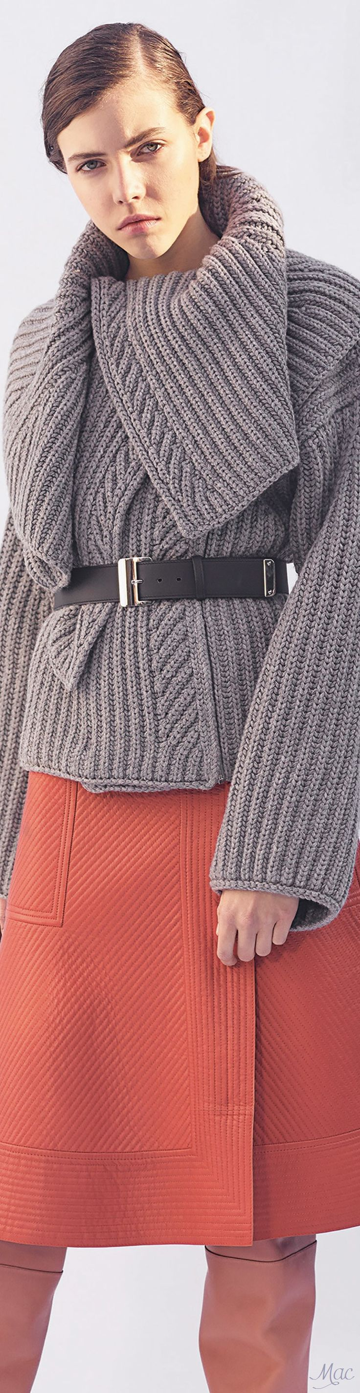 Hermès Pre-Fall 2017 This is a lot of sweater love, love, love!