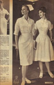 Sears Fall Winter 1960 catalog nurses' uniforms II My mom was a nurse and wore this uniform