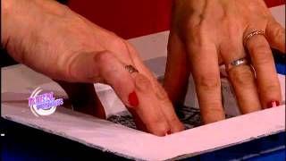 molde para tejido de punto hermenegildo zampar - YouTube