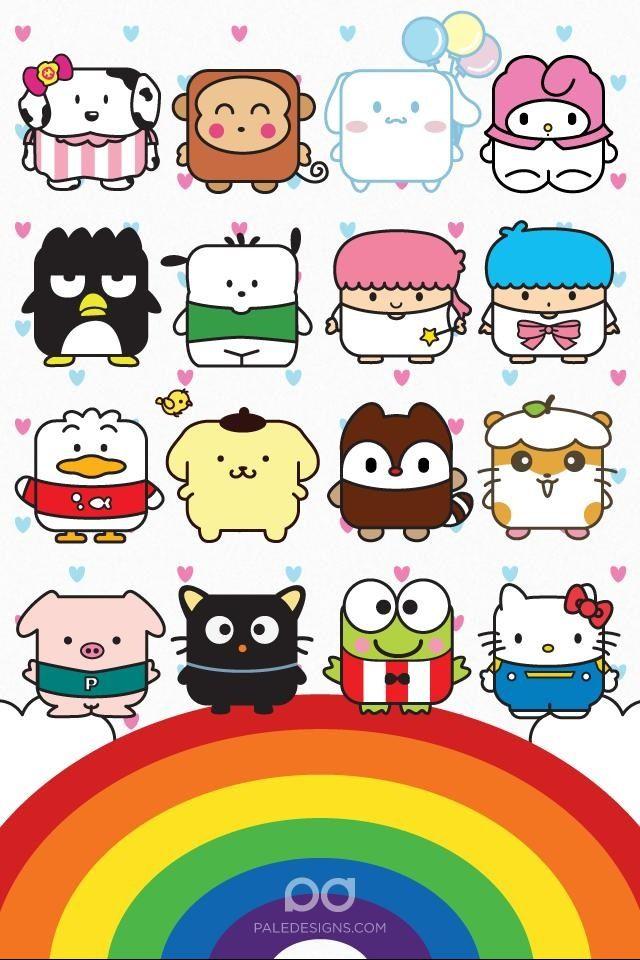 #cute #kawaii #sanrio #wallpaper #iphonewallpaper # ...