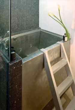 Looking for a small, deep tub for the master bath so I can have a separate shower and tub (also, might consider a small tub in the guest bath where there's currently just a shower)