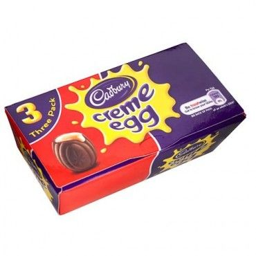 Cadbury Creme Eggs 3 Pack - Easter Chocolate & Sweets - Easter