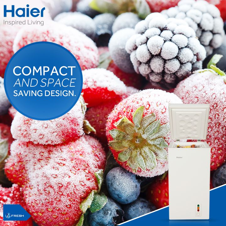 #Haier's #DeepFreezer is the perfect balance of efficient cooling and compact design. The space saving design is ideal for modular kitchens which makes it a perfect addition to your home.