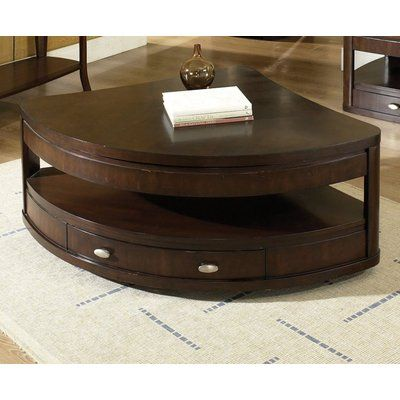 Buy Steve Silver Isabelle 39x39x21 Corner Wedge Lift Top Cocktail Table In  Dark Cherry On Sale