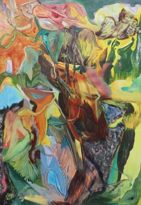 Gregor Gleiwitz. 'Untitled', oil on canvas, 2010