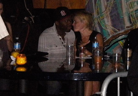 Between Chelsea and 50 Cent ... who's the real smoker? 50Cent sit the fuck down. Chelsea puffs the Chronic!