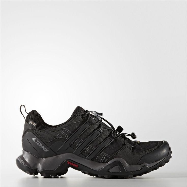 Adidas TERREX Swift R GTX Shoes (Core Black / Black / Sharp Grey)