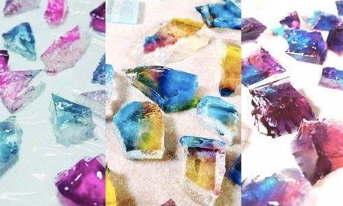 "Twitterで話題!まるで食べられる宝石""琥珀糖""の簡単な作り方"