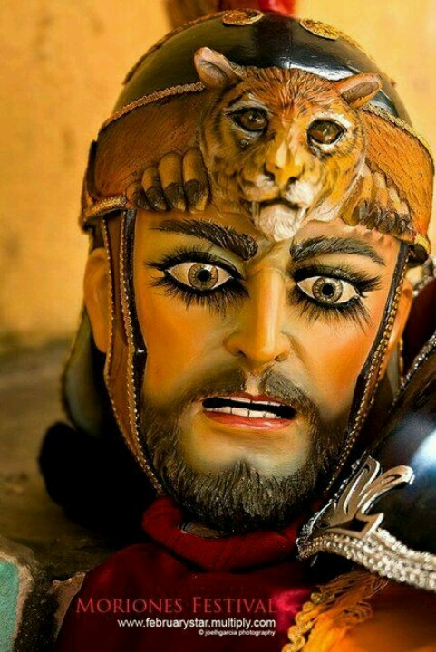 Marinduque Moriones Festival - this is a Morion mask worn by Marinduquenos during the Lenten Season in celebration of the annual Moriones Festival #ChoosePhilippines #Marinduque